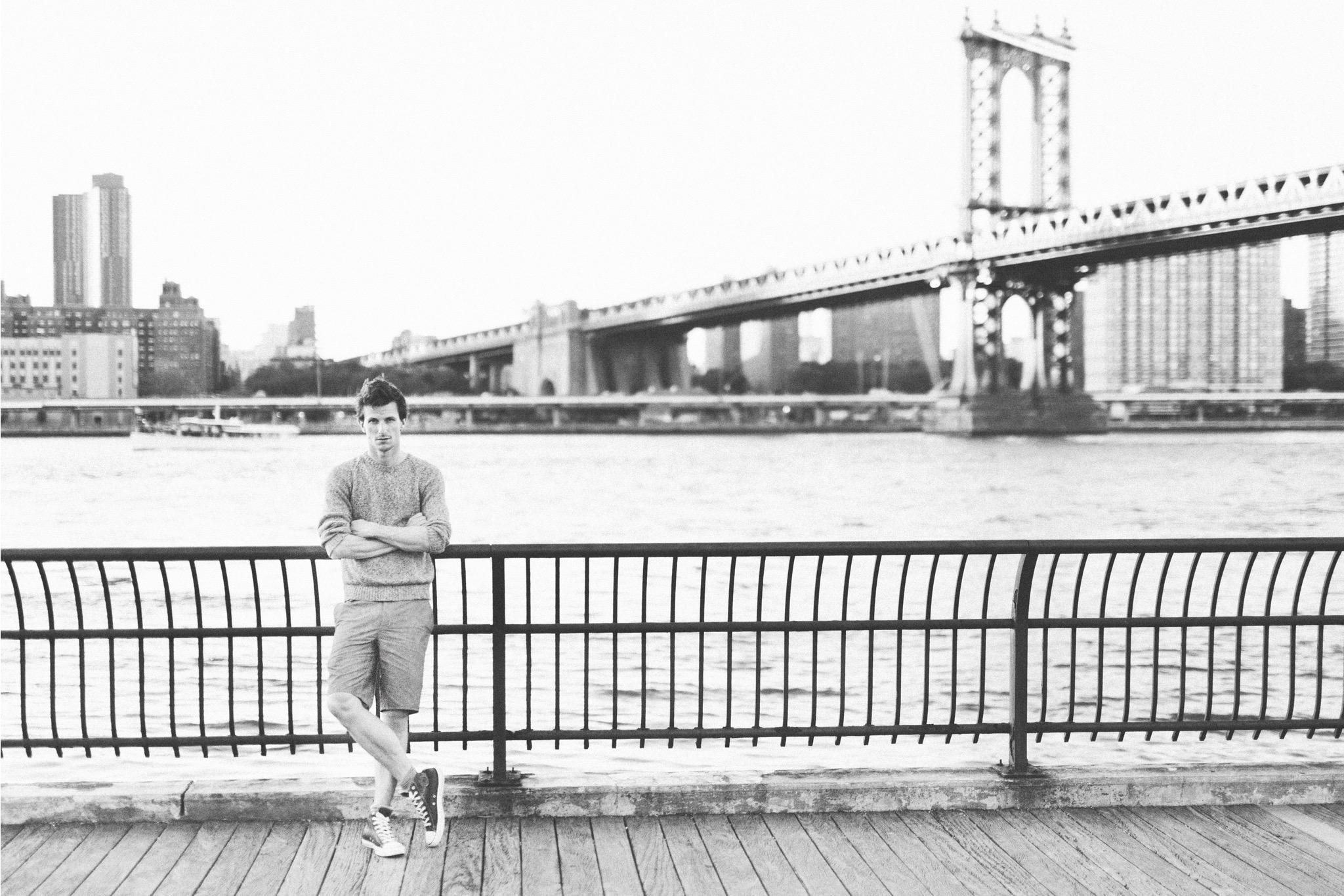 Viktor Åkerblom New York Foto: Sussie Mellstedt